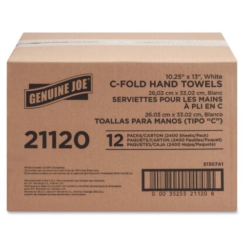 Genuine Joe C-Fold Paper Towels (21120)