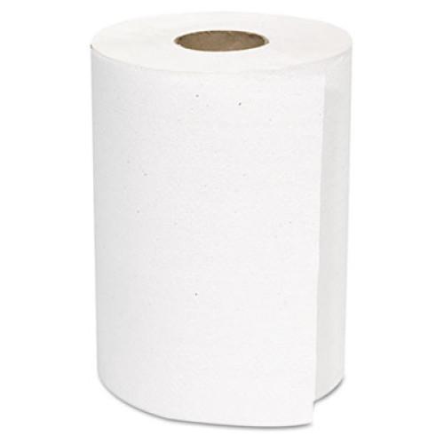 GEN Hardwound Roll Towels, White, 8