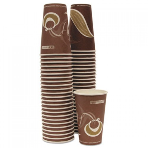 Eco-Products Evolution World 24% Recycled Content Hot Cups - 16oz., 50/PK, 20 PK/CT (EPBRHC16EW)