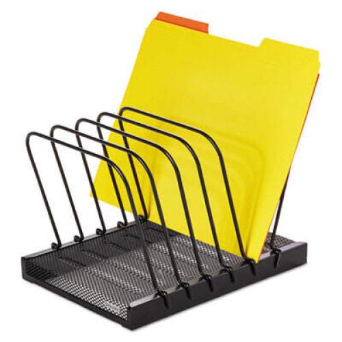 Rolodex Mesh Flip Document Holder, 5 Sections, Letter Size Files, 10.25