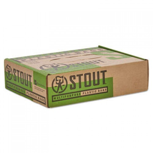 AbilityOne 8105015173668, SKILCRAFT Recycled Content Trash Can Liners, 60 gal, 1.5 mil, 38