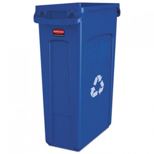 Rubbermaid 1998897 Slim Jim Recycling Container