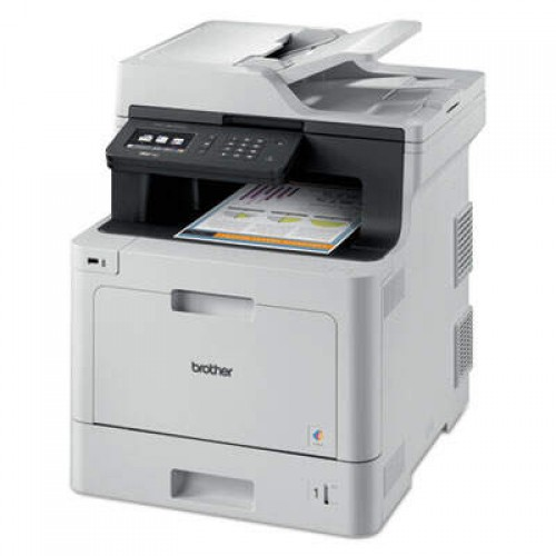 Brother MFCL8610CDW Business Color Laser All-in-One Printer with Duplex Printing and Wireless Networking
