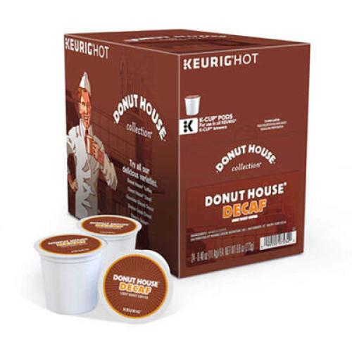 Coffee People Donut House Decaffeinated Light Roast Coffee (7534)