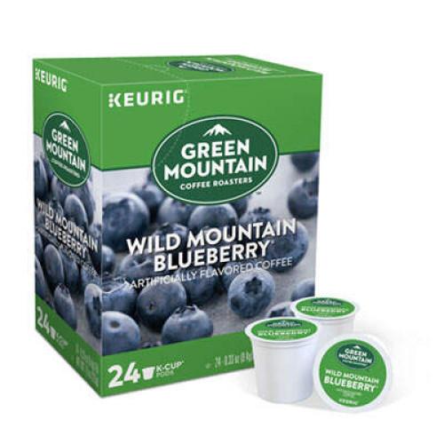 Keurig Fair Trade Wild Mountain Blueberry Coffee K-Cups, 96/Carton (6783CT)