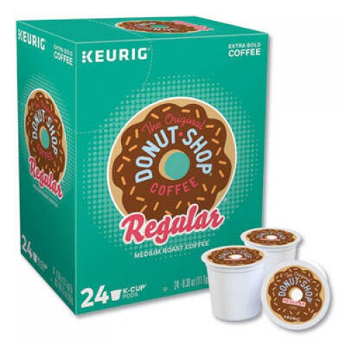 The Original Donut Shop Donut Shop Coffee K-Cups, Regular, 24/Box (60052101)