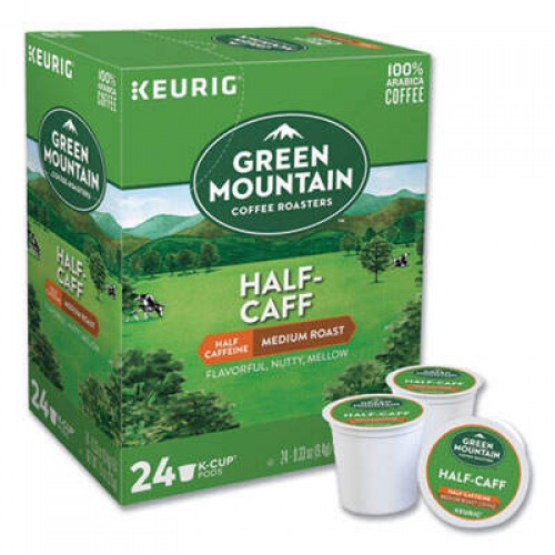 Keurig Half-Caff Coffee K-Cups, 96/Carton (6999CT)
