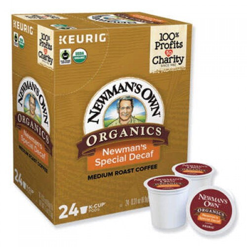 Keurig Newman's Own Decaffeinated Special Blend Coffee (4051)