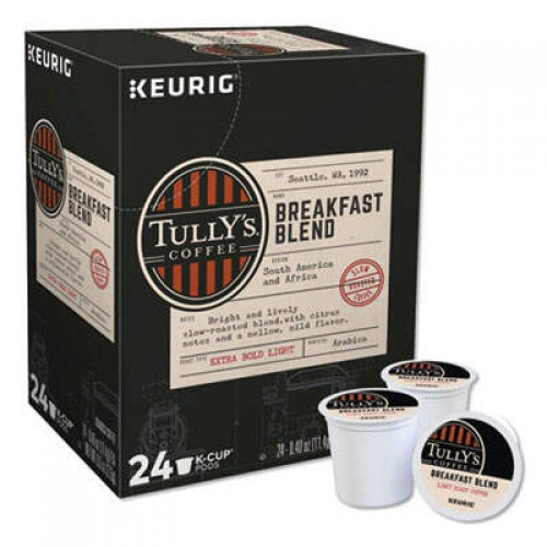 Keurig Tully's Coffee Breakfast Blend (192719)