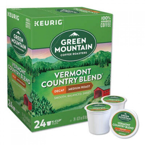 Green Mountain Coffee Roasters Vermont Country Blend Decaf (7602CT)