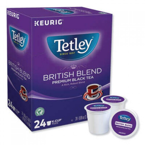 Keurig Tetley British Blend Black Tea (6855)