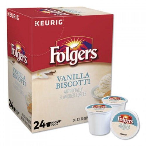 Folgers Gourmet Selection Vanilla Biscotti Coffee (6661)