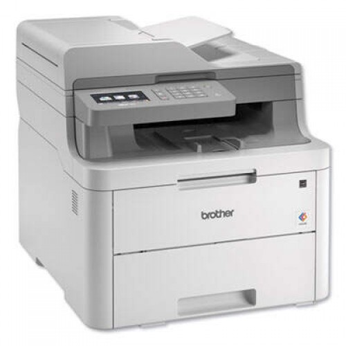 Brother MFC-L3710CW Compact Wireless Color All-in-One Printer, Copy/Fax/Print/Scan