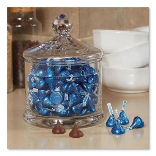 Hershey's KISSES, Milk Chocolate, Dark Blue Wrappers, 66.7 oz Bag (1824548)