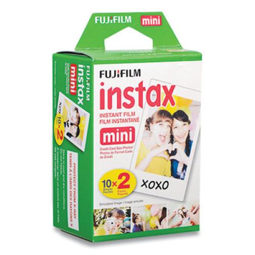 Fujifilm Instax Mini Film, 800 ASA, Color, 20 Sheets (275745)