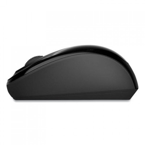 Microsoft Mobile 3500 Wireless Optical Mouse, 2.4 GHz Frequency/16.4 ft Wireless Range, Left/Right Hand Use, Black (927233)