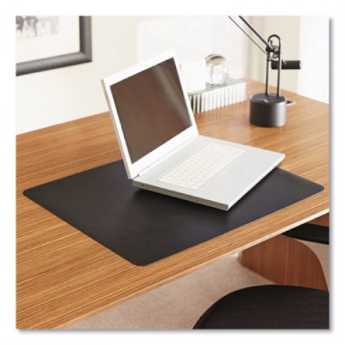 ES Robbins Natural Origins Desk Pad, 19 x 12, Matte, Black (120792)