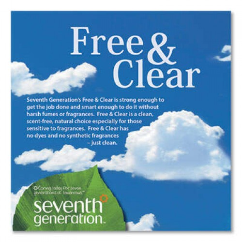 Seventh Generation Professional All-Purpose Cleaner, Free and Clear, 1 gal Bottle, 2/Carton (44720CT)