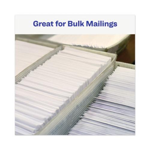 PRES-a-ply Dot Matrix Printer White Address Labels, Pin-Fed Printers, 0.94 x 3.5, White, 5,000/Box (30720)