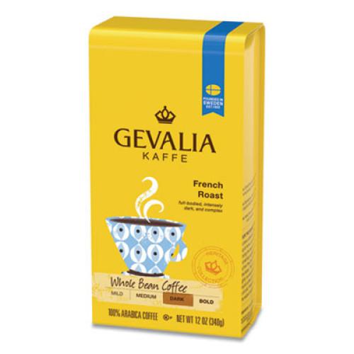 Gevalia Coffee, French Roast, Ground, 12 oz Bag (1667896)