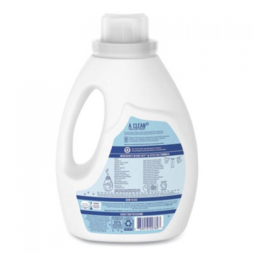 Seventh Generation Natural 2X Concentrate Liquid Laundry Detergent, Free and Clear, 33 loads, 50 oz (22769EA)
