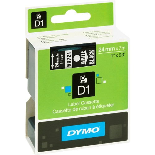 Dymo Polyester-coated D1 Tape (53721)