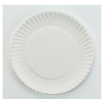 AJM PP6GREWH Packaging Corporation Paper Plates