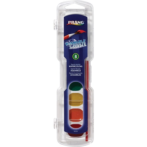 Dixon 80525 Semi-Moist Washable Watercolors