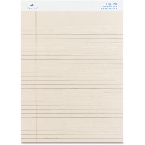 Sparco 01074 Colored Legal Ruled Pads