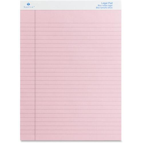 Sparco 01076 Colored Legal Ruled Pads