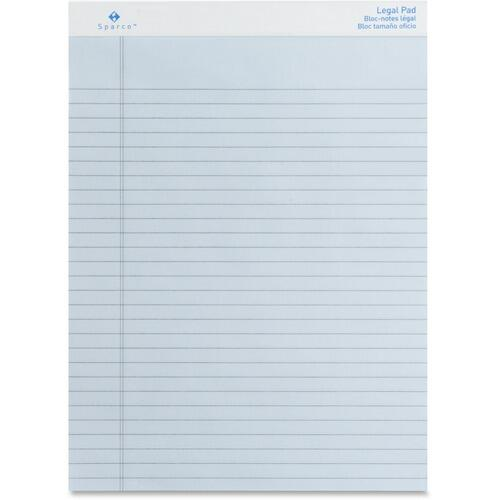 Sparco 01077 Colored Legal Ruled Pads