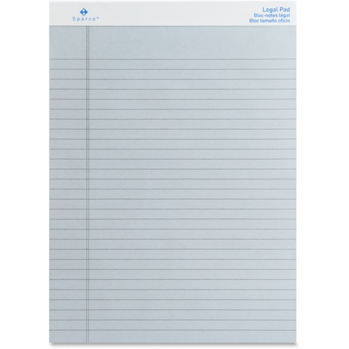 Sparco 01078 Colored Legal Ruled Pads