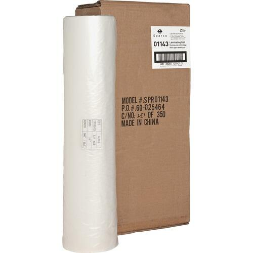"Sparco 01143 1"" Core Clear Laminating Roll"