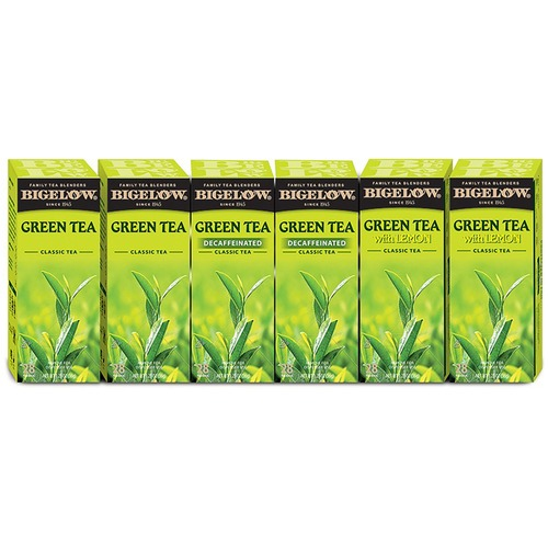 Bigelow 10578 Assorted Green Tea Bag