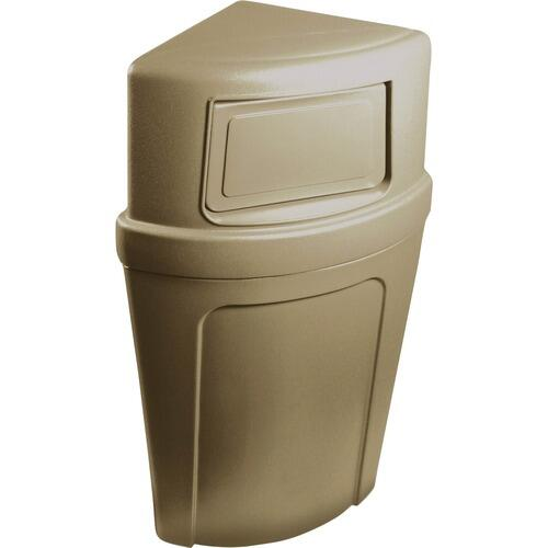Continental 8325BE 8325 Corner Round Receptacle