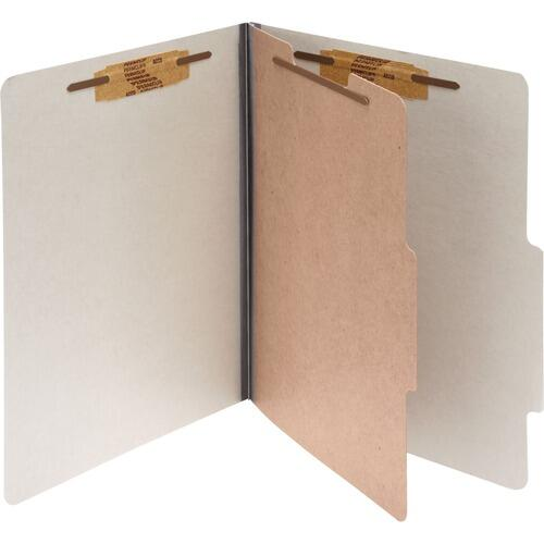 Acco 16054 Durable 1-Divider Pressboard Classification Folders