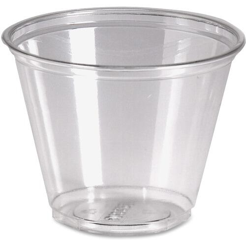 Dixie CP9APK Crystal Clear Plastic Cups