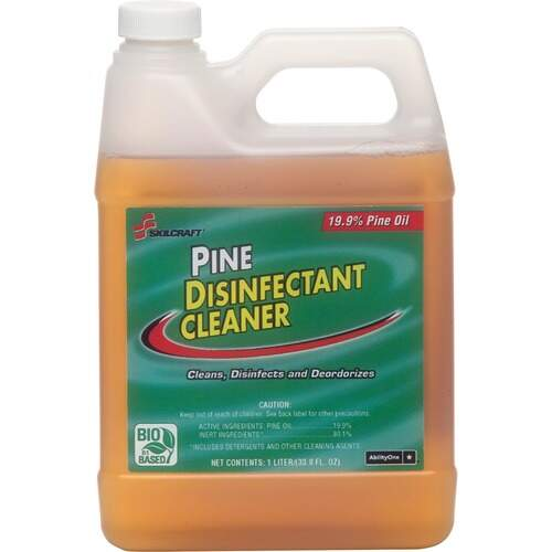 AbilityOne 3424143 Pine Disinfectant Cleaner