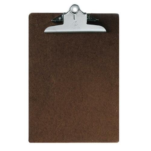 AbilityOne 2815918 Brown Composition Board Clipboard