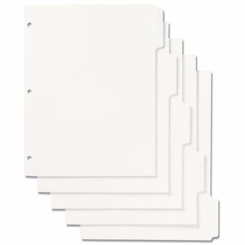 AbilityOne 9594441 Tabbed Index Sheets Set