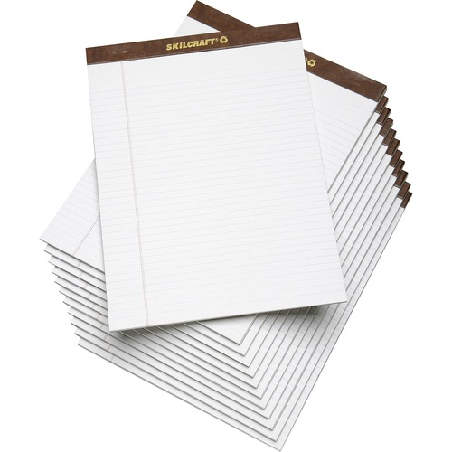 AbilityOne 3723108 Perforated Writing Pads