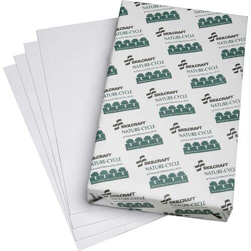 AbilityOne 5038449 Recycled Chlorine-Free Copier Paper
