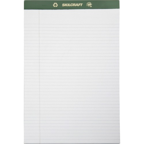 AbilityOne 5169626 Legal-ruled Perforated Writing Pads
