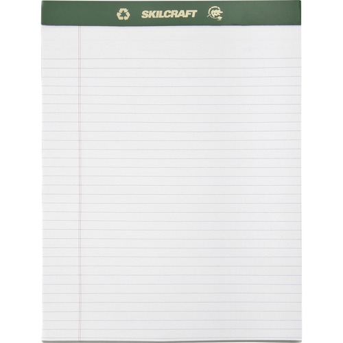 AbilityOne 5169627 Legal-ruled Perforated Writing Pads