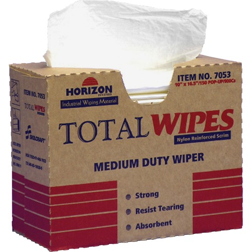 AbilityOne 4487053 Total Wipes Multipurpose Wiping Towels