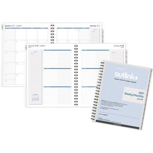 AT-A-GLANCE 70200910 Outlink Weekly Planner Refill