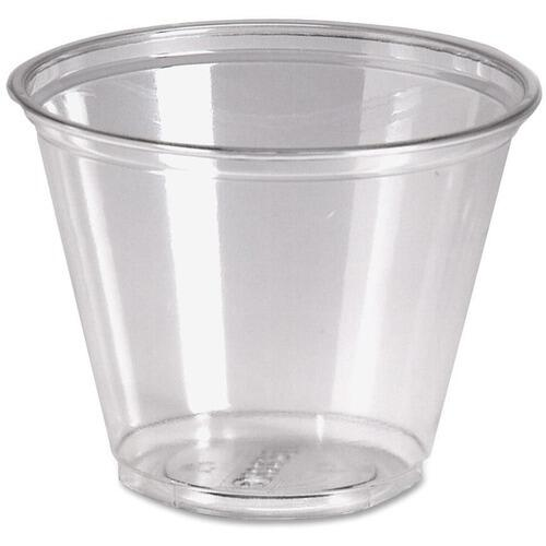 Dixie CP9ACT Crystal Clear Plastic Cups