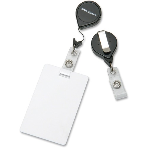 "AbilityOne 5453657 36"" Retractable ID Card Reel"