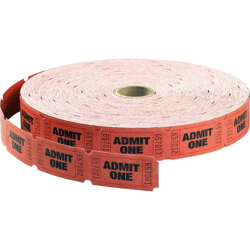 MACO 18610 Admit One Single Roll Tickets