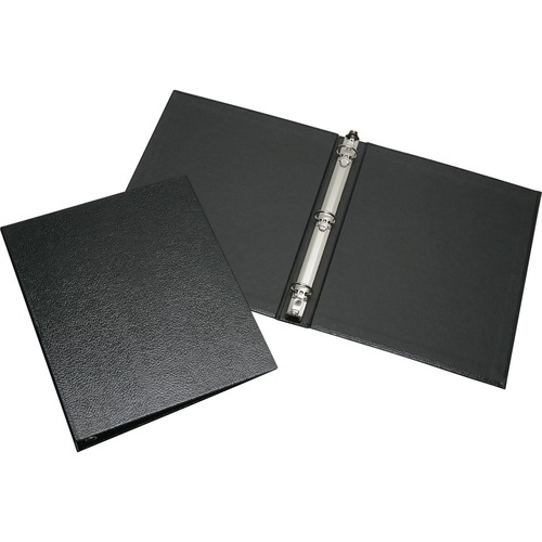 AbilityOne 2816180 Turned Edge Case Bound Round Ring Binder